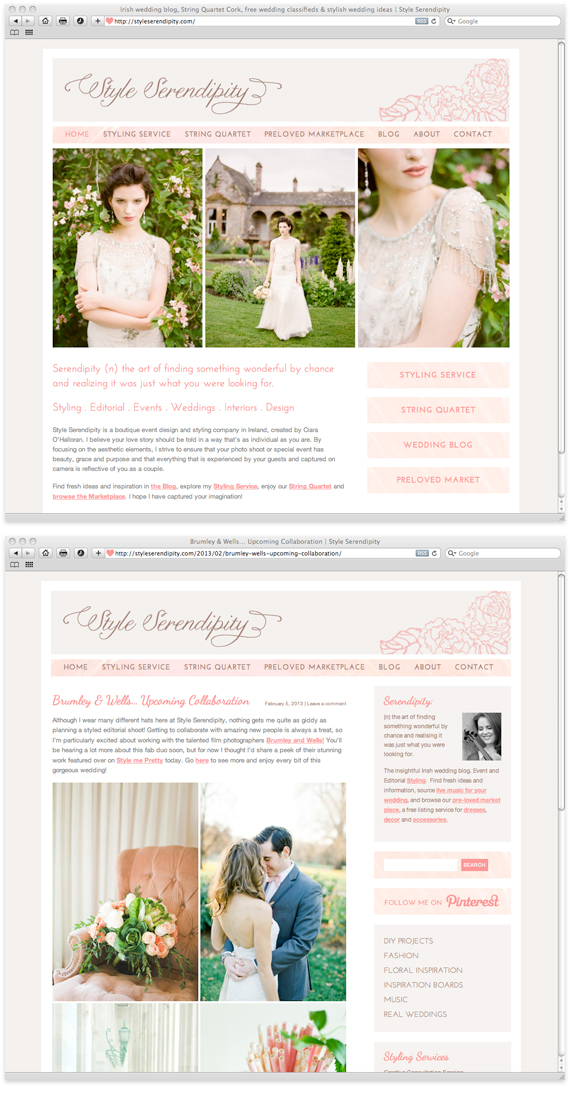 Style-Serendipity-website