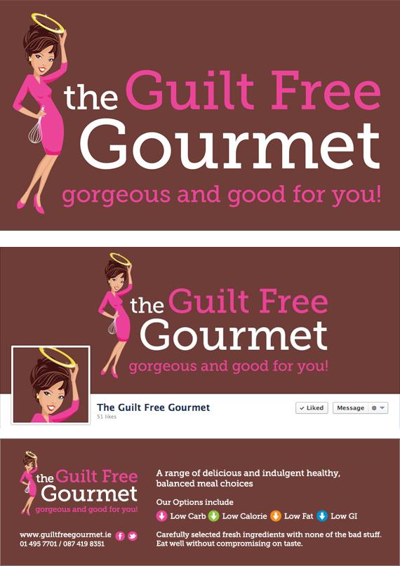 Food Branding Guilt Free Gourmet