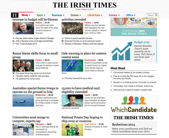 which-candiate-irish-times